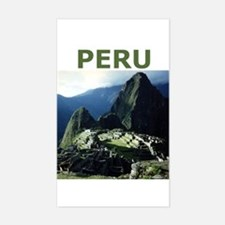 PERU Rectangle Decal