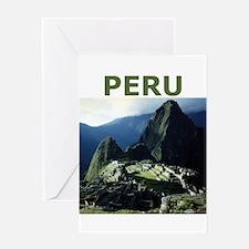 PERU Greeting Card