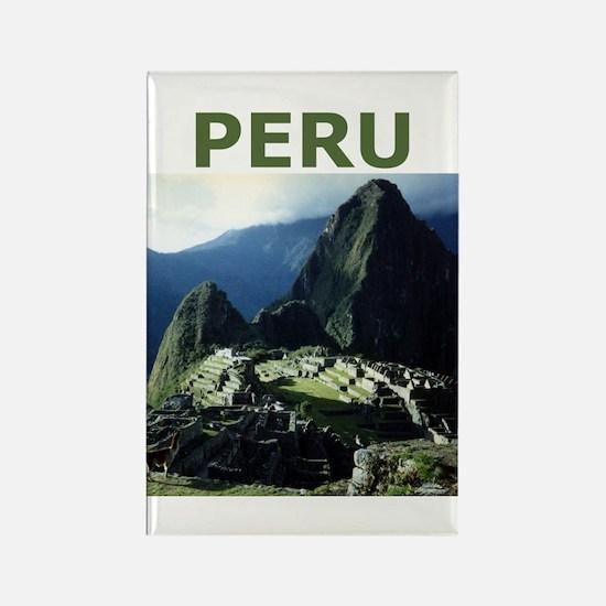 PERU Rectangle Magnet