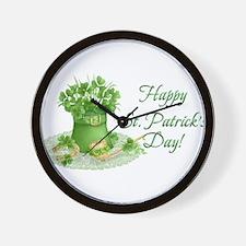 Unique Saint patricks day Wall Clock