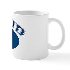 Proud Opa (blue) Small Mug