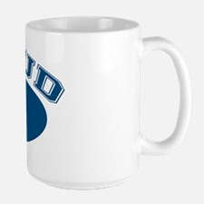 Proud Opa (blue) Large Mug