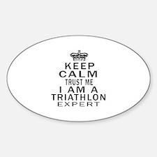 Triathlon Expert Designs Decal