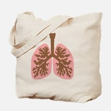 Funny Lungs Tote Bag