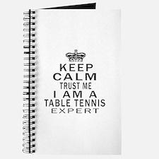 Table Tennis Expert Designs Journal