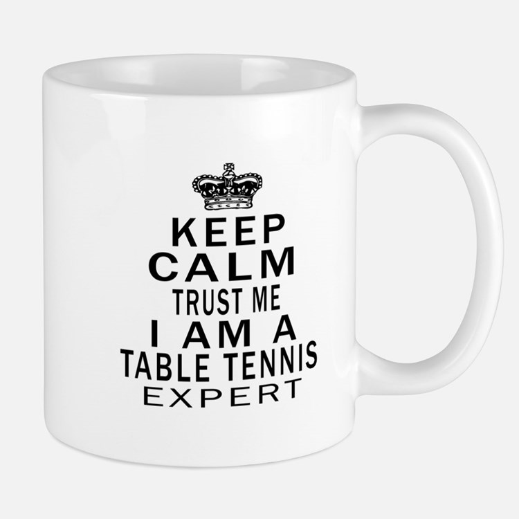 Table Tennis Expert Designs Mug