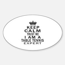 Table Tennis Expert Designs Decal