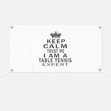 Table Tennis Expert Designs Banner