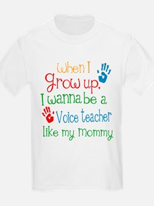 Voice Teacher Like Mommy T-Shirt