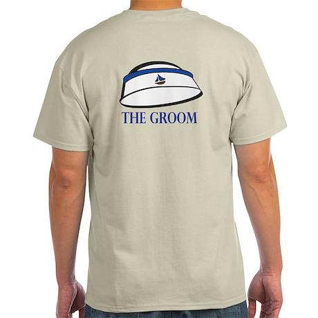 The (Sailor) Groom Ash Grey T-Shirt