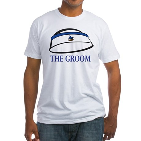 The (Sailor) Groom Fitted T-Shirt