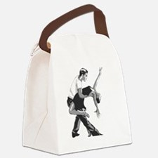 Funny Salsa Canvas Lunch Bag