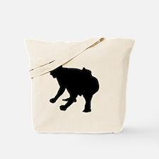 Unique Sumo wrestler Tote Bag