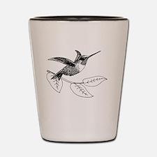 Unique Hummingbird Shot Glass