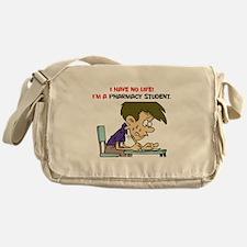 No Life Pharm Stud Messenger Bag