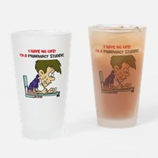 No Life Pharm Stud Drinking Glass