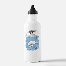 Cute Beluga Water Bottle