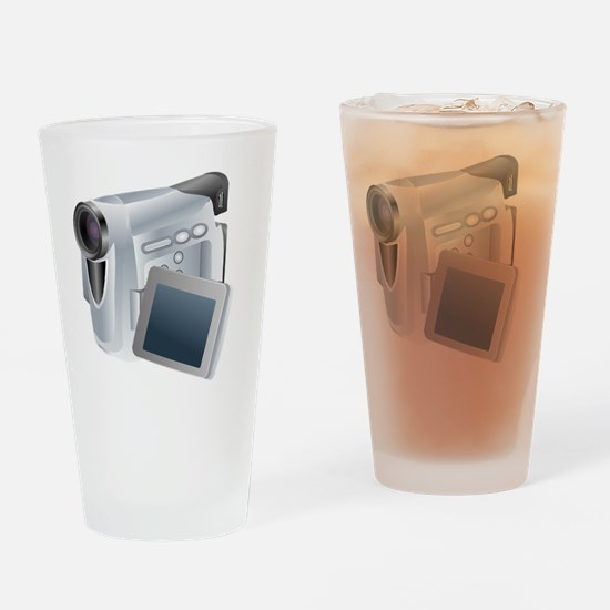 Unique Camcorder Drinking Glass