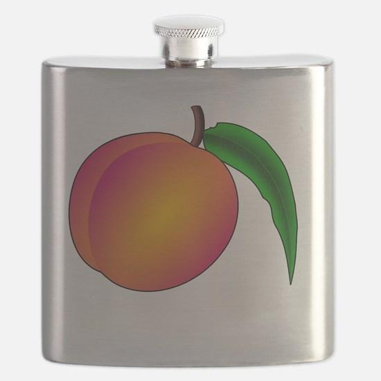 Unique Peaches Flask