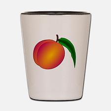 Funny Peach Shot Glass