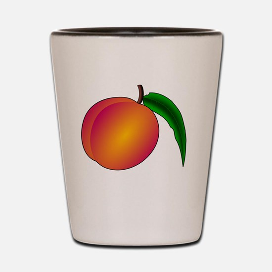 Cute Peach Shot Glass