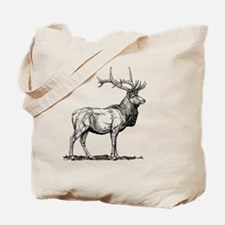 Cute Elk Tote Bag
