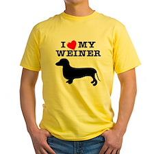 Love My Weiner T