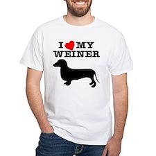 Love My Weiner Shirt