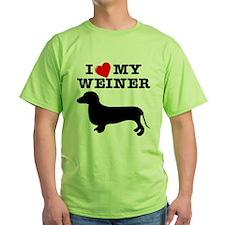 Love My Weiner T-Shirt