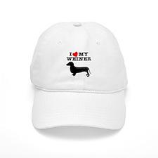 Love My Weiner Baseball Cap