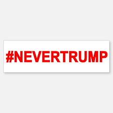 Never Trump Bumper Bumper Bumper Sticker