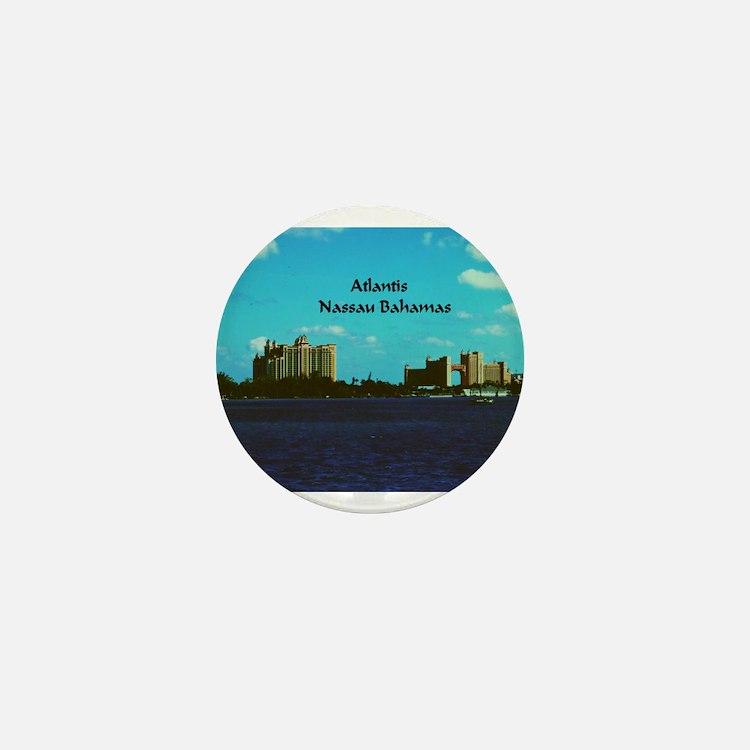 Atlantis Mini Button
