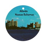 Atlantis bahamas Round Ornaments