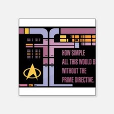 Without the Prime Directive Sticker