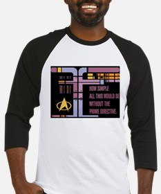 Without the Prime Directive Baseball Jersey