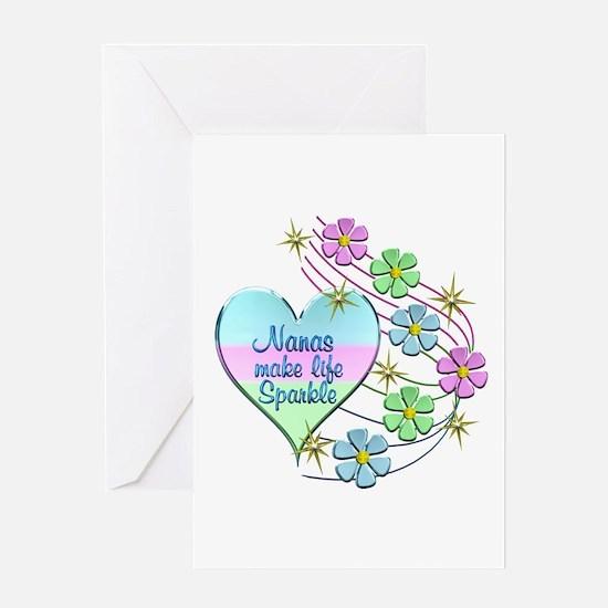 Nanas Make Life Sparkle Greeting Cards