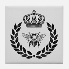 THE FRENCH BEE Tile Coaster