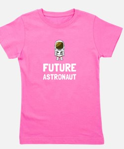 Funny Rocket science Girl's Tee