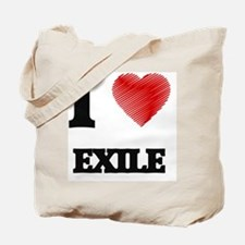 I love EXILE Tote Bag