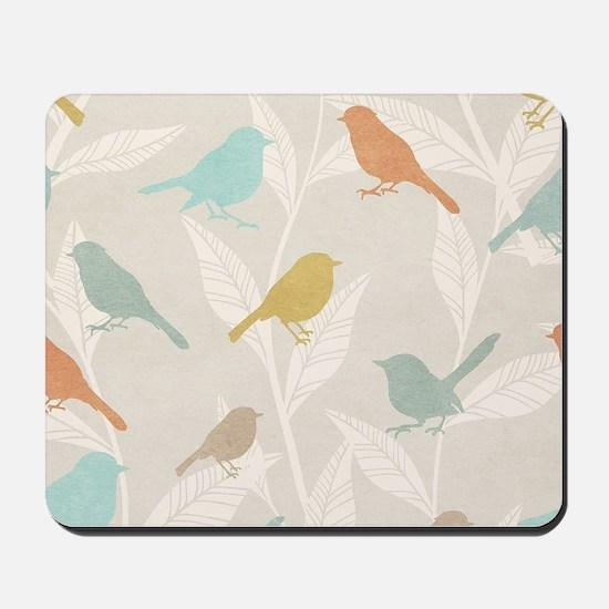Pretty Birds Mousepad