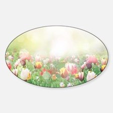 Spring Tulips Decal