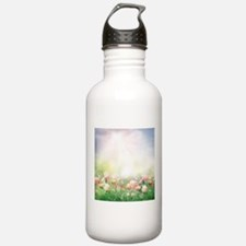 Spring Tulips Water Bottle