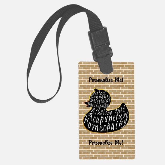 Alt Medicine is Quackery Luggage Tag