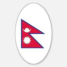 Cute Himalaya Sticker (Oval)