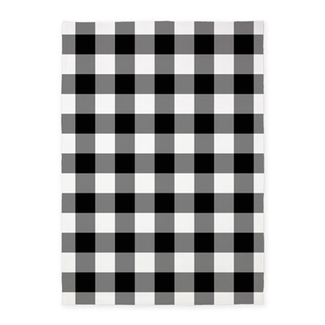 Black and white checkered area rug for Checkered carpet black and white
