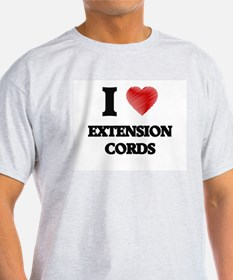 I love EXTENSION CORDS T-Shirt