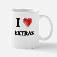 I love EXTRAS Mugs