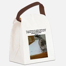 the greatness of a nation Canvas Lunch Bag