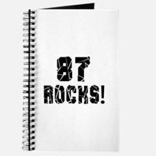 87 Rocks Birthday Designs Journal