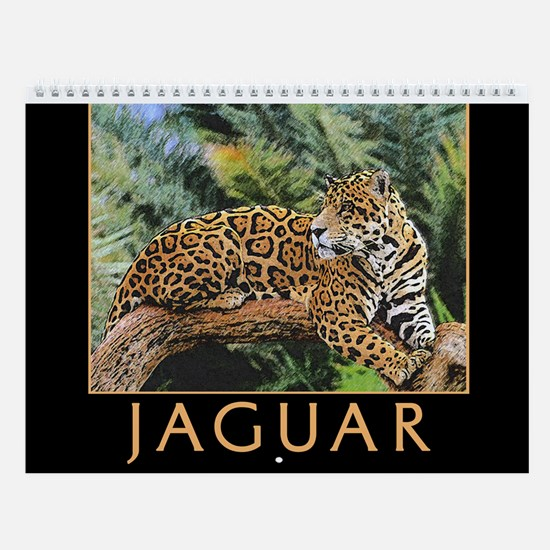 Jaguar Wall Calendar